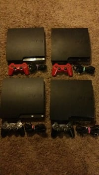 4 Playstation 3 slim With games read info 700 mi