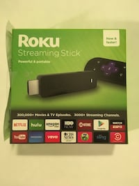 Roku streaming stick (3600R) plus power cable  New York, 10003