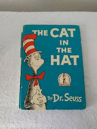 1957 First Edition Cat In Th Hat Book