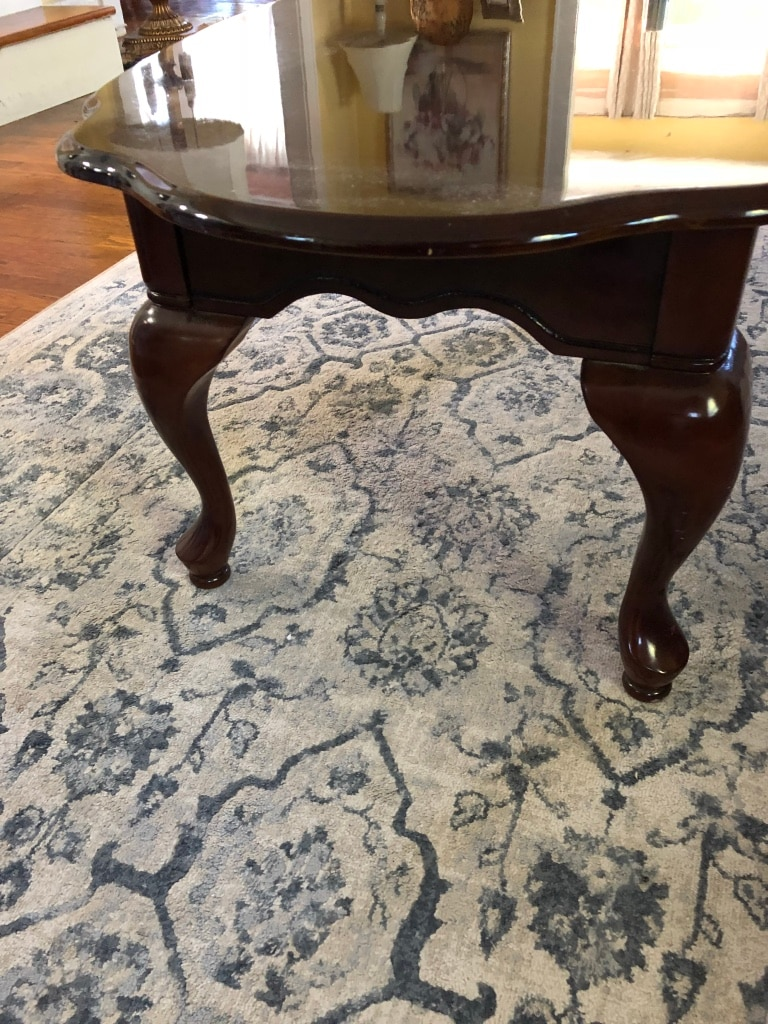 Superieur Queen Anne Style Coffee Table   Excellent Condition F