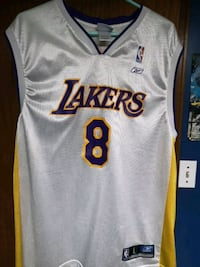 white and yellow adidas Los Angeles Lakers 24 jersey Winnipeg, R2P 2X1