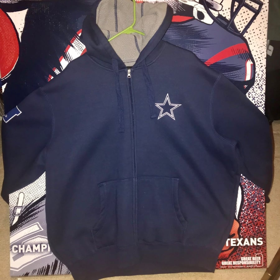 Dallas Cowboys Hoodie Jacket.