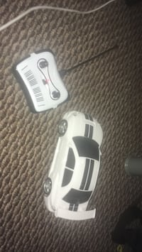 White and black r/c toy car Calgary, T3K 4T6