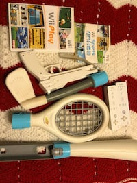 Nintendo Wii Sport Lot of Remotes, Accessories And games  Bowie, 20720