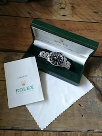 Rolex Submariner 5513 Vintage From 1988 Box & Papers Montréal, H1W 3J1