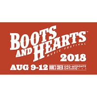 2 Boots And Hearts Tickets Brampton, L6T 2L5