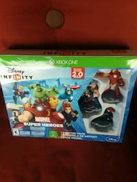 Disney Infinity Xbox One box Franklin, 45005