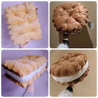 Biscuit Cookie Plush Pillow 3726 km