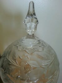 Old German Crystal Candy Dish - 27 cms  Mississauga, L5N 2X2