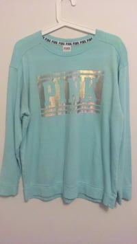 Victoria secret pink holographic sweater in the size XS Brampton, L6V