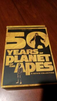 Planet of the Apes Blu Ray 9 movies - no code Gaithersburg
