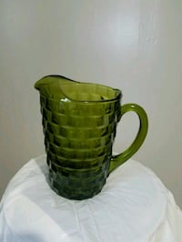 green glass pitcher hit  Commerce, 30529