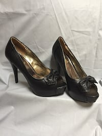 Shoes-7 inch high heel in black-size 7 Woodbridge, 22191