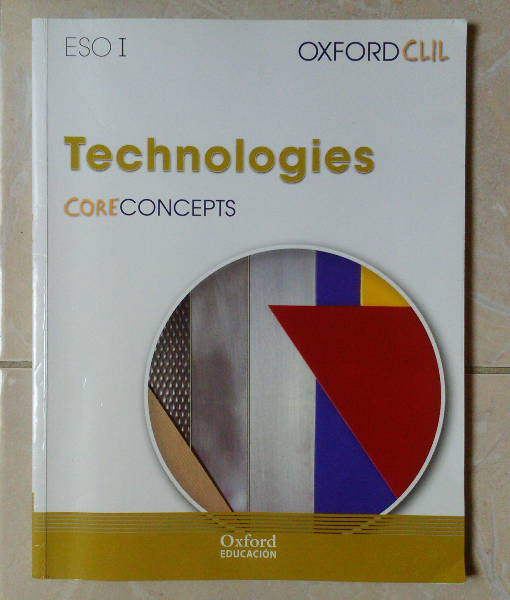 Libro Technologies de 1°ESO, Editorial Oxford. 5762 km