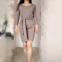 Aritzia babaton tie at waist dress Vancouver, V6E 1A7