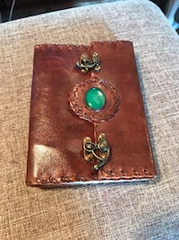 Handmade leather journal/sketchbook Metchosin, V9C 4G6
