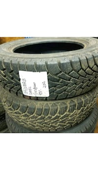 two 185/60R15 ■ GOODYEAR ■ mud and snow tires Port Coquitlam, V3C