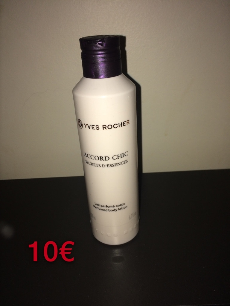 YVES ROCHER ACCORD CHIC lait
