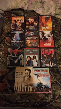 assorted DVD movie case lot Lebanon, 65536