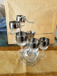clear glass pitcher with drinking glasses Ottawa