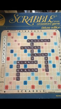 Scrabble crossword game board