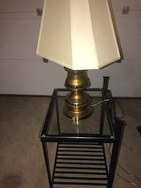 Side table and lamp Aurora, L4G 7R8