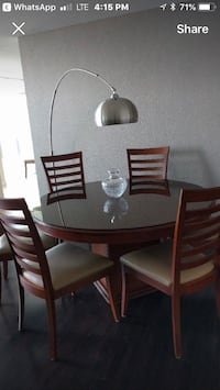 Solid Wood Table Set (Firm Price) Vaughan, L6A 3P3