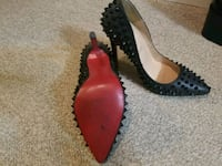 Christian louboutin spiked pumps North Vancouver, V7P 1T4