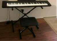 Piano Keyboard Yamaha NP-30 with Chair, Stand, Foo Los Angeles, 90020