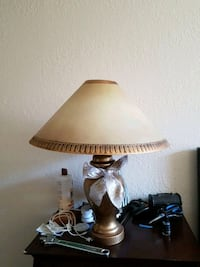 Two matching porcelain lamps 25 for both Victoria, V8X 1K2