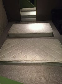 2 Sealy Twin Mattresses  Red Deer, T4N 2T7
