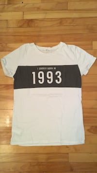 Tee-shirt - I SHOULD BE BORN IN 1993 Montréal, H2S 2R9
