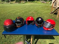 A Variety of Helmets Kawartha Lakes