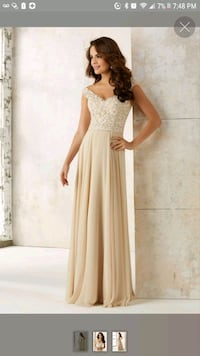 Prom Dress / Gown Mori Lee Champagne