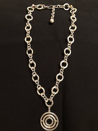 Sterling Silver circles neckless Springfield, 22153