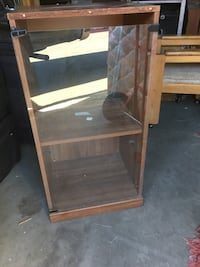 brown wooden frame and glass panel cabinet Bend, 97703