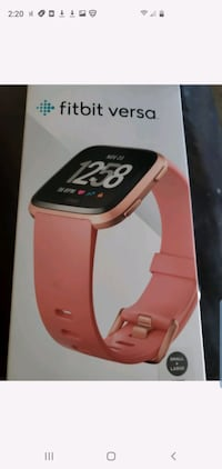 Fitbit versa new with extra watch band. Taylor, 48180