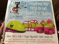 Brand new kids adjustable roller skates pads and helmet set Bethlehem, 18017