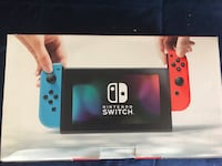 Neon red and blue Nintendo Switch bundle Silver Spring, 20901