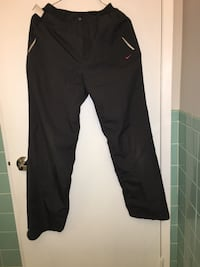 Nike woman active pants, water resist and fast dry, dark grey Size M