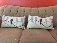 Home sense birds pillow set Burnaby, V5C 3T8
