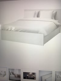 Queen size bed (IKEA Malm model), includes 4 drawers, vey clean like brand new, Los Angeles, 91040