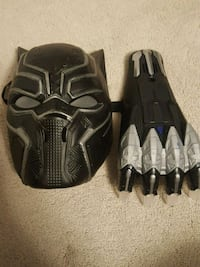 black panther mask and claw for kids