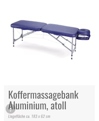 Koffermassagebank  Wiesbaden, 65187
