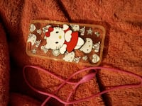clear silicone Hello Kitty print iPhone case Indiana, 15701