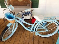 White & Blue Womans Bike Salem, 29676