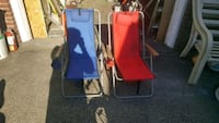 Red and blue beach chair Valley Stream, 11580