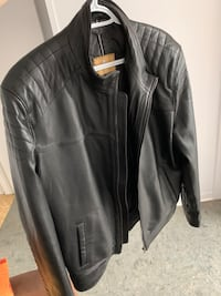 Geniuine leather jacket mens - high quality