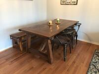 Dining table with bench and 4 chairs Leesburg, 20176