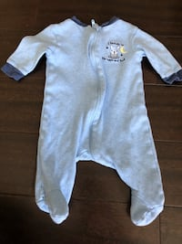 """I love you to the moon and back"" onesie/ sleeper 0-3 month Calgary, T2Z 1A3"
